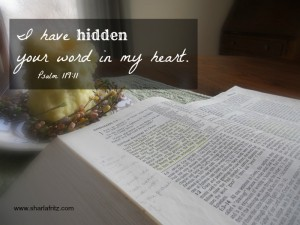 Scripture Memory: Verses to Get You Out of An Emotional Basement