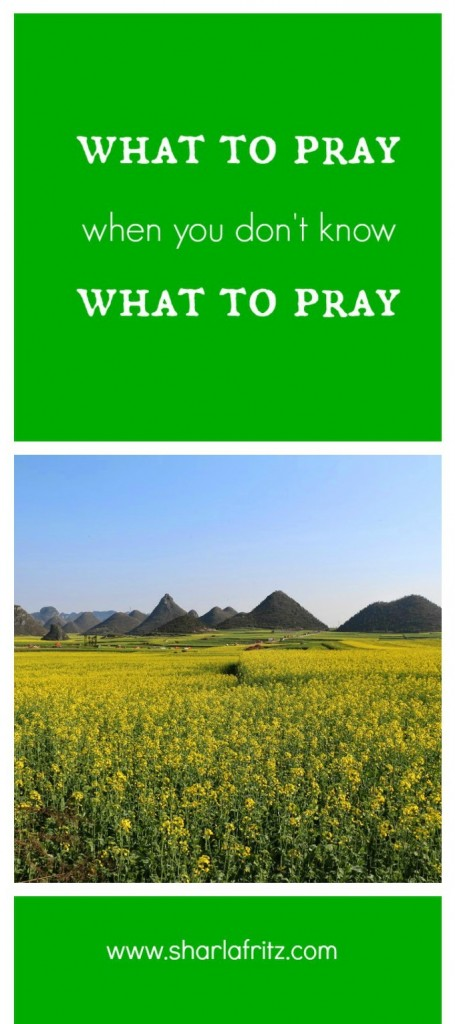 Learn a simple ancient prayer that your heart can pray when you don't know how to pray.
