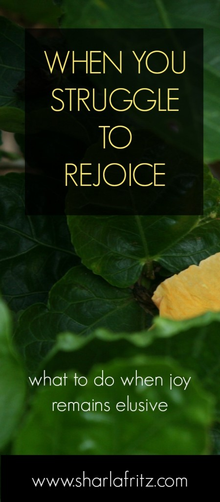 struggle to rejoice