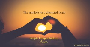 The Antidote for a Distracted Heart