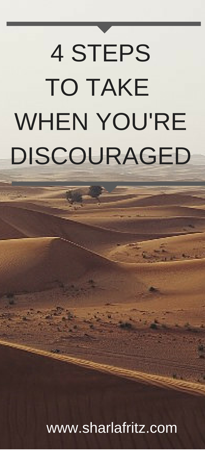 4 STEPS-DISCOURAGED