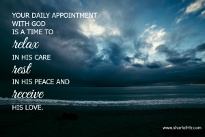 7 Habits That Promote Soul Rest: Daily Meeting with God