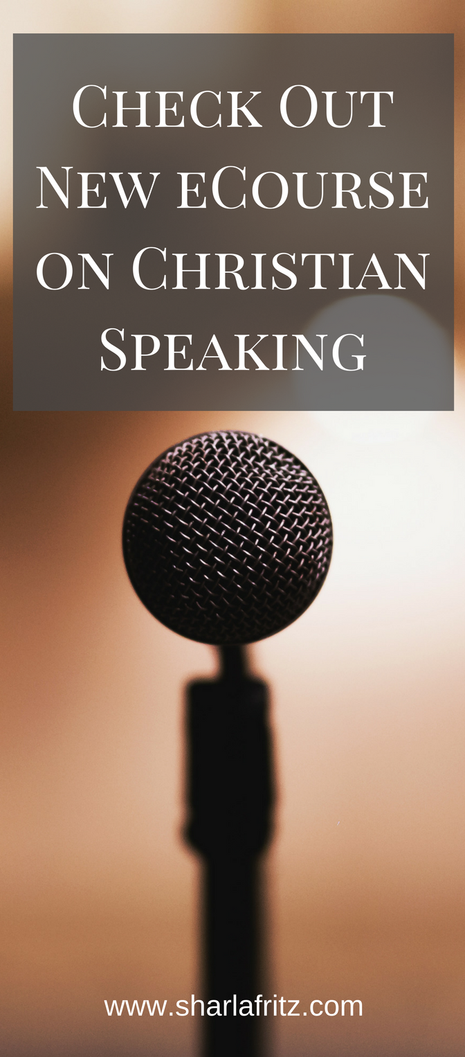 Check out a new cCourse on Christian speaking