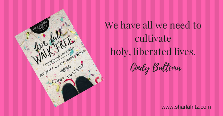 We have all we need to cultivate holy, liberated lives