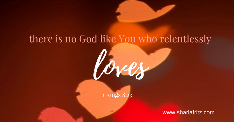 there is no God like you who relentlessly (1)