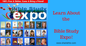 Don't Miss the Bible Study Expo!
