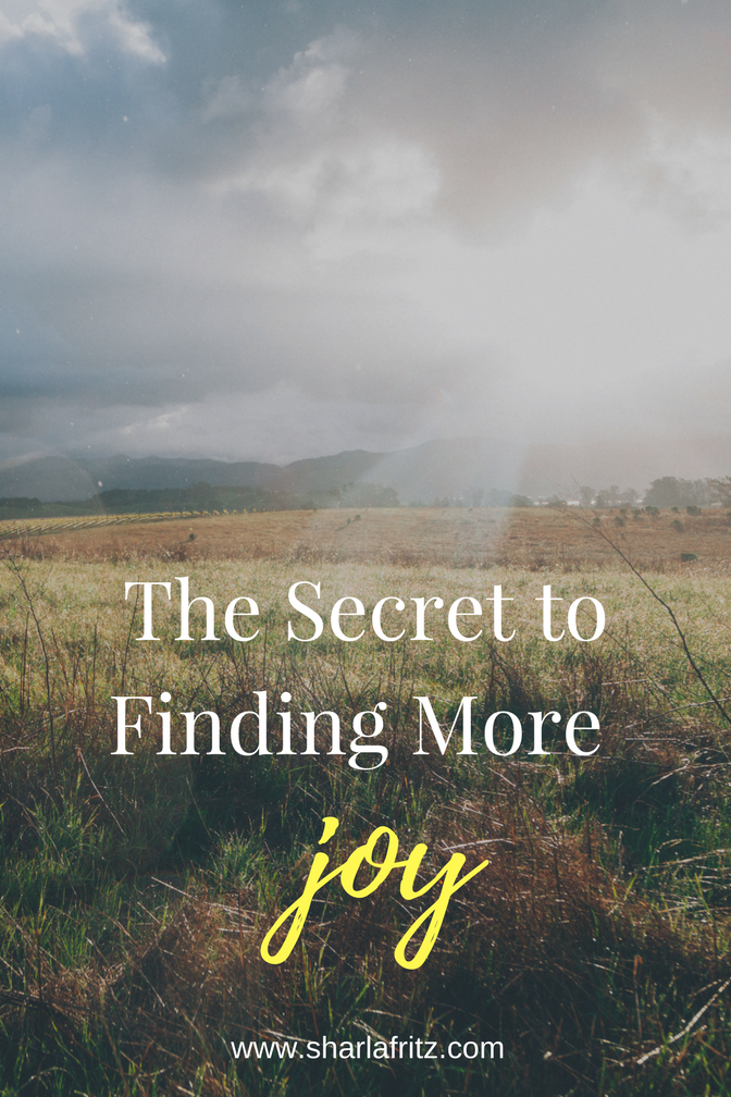 The Secret to Finding More