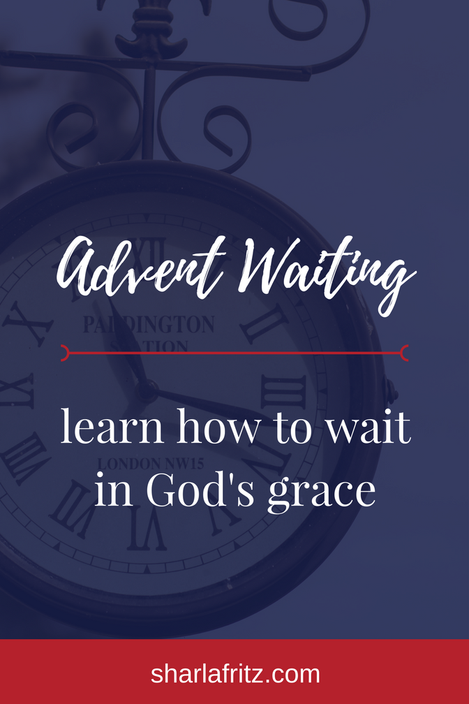 Advent WaitingInGod'sGracePIN