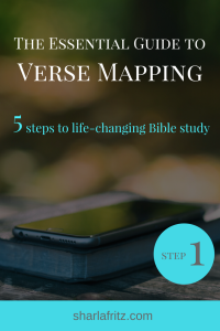 The Essential Guide to Verse Mapping: Step One