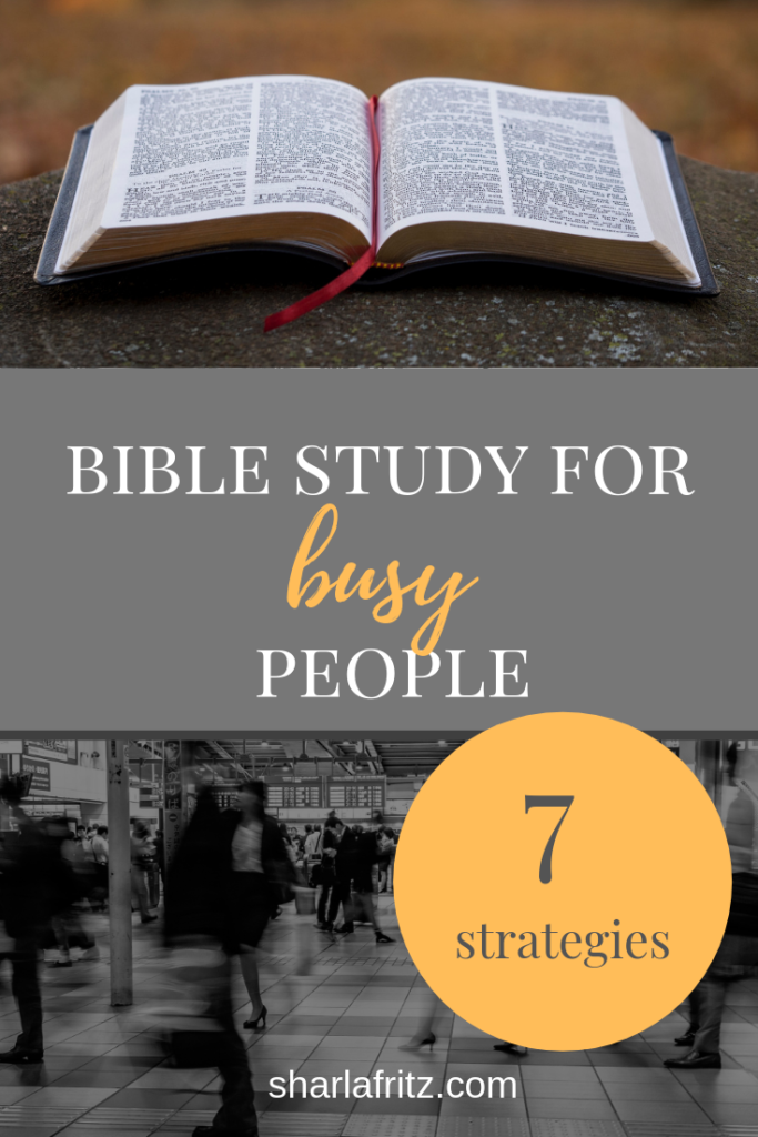 Bible study Archives - Sharla Fritz