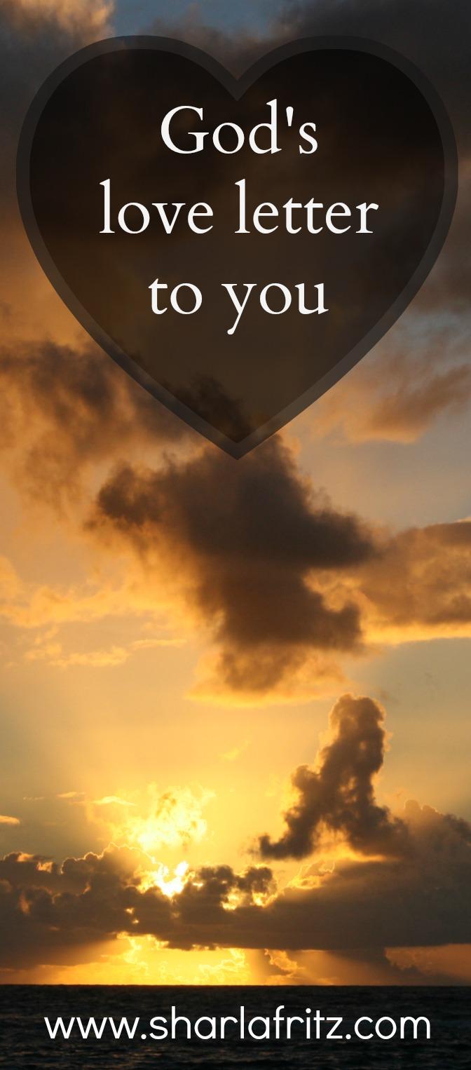 God s Love Letter to You Sharla Fritz